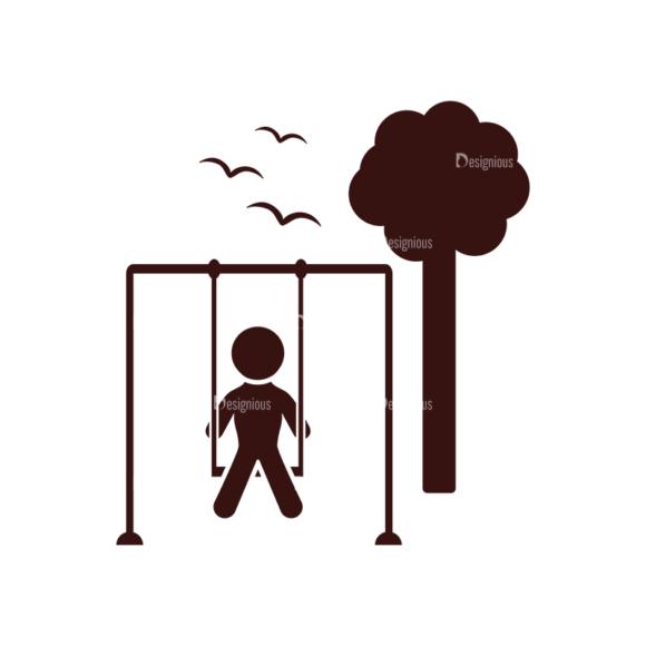 Children Pictogram Icons Vector Set 1 Vector  Child 06 children pictogram icons vector set 1 vector child 06