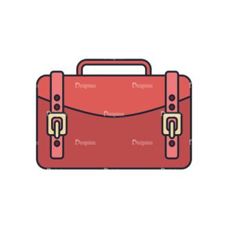 Clothes Vector Set 1 Vector Bag Clip Art - SVG & PNG vector