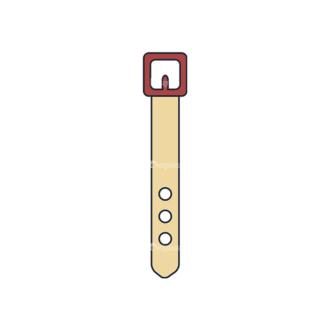 Clothes Vector Set 1 Vector Belt Clip Art - SVG & PNG vector
