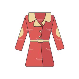 Clothes Vector Set 1 Vector Dress Clip Art - SVG & PNG vector