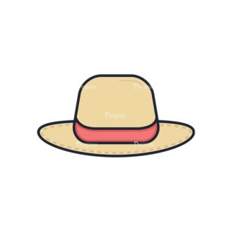 Clothes Vector Set 1 Vector Hat Clip Art - SVG & PNG vector