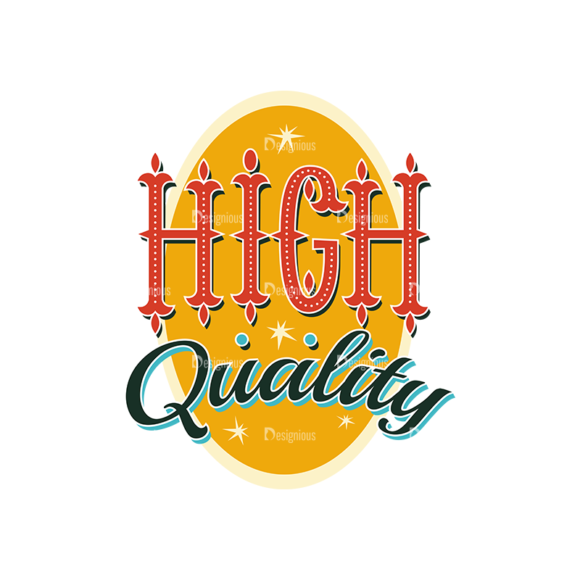 Coloful Typography Set 1 Vector High Quality 1