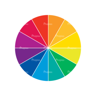 Color Wheel Vector Set Vector Color Wheel 02 Clip Art - SVG & PNG vector