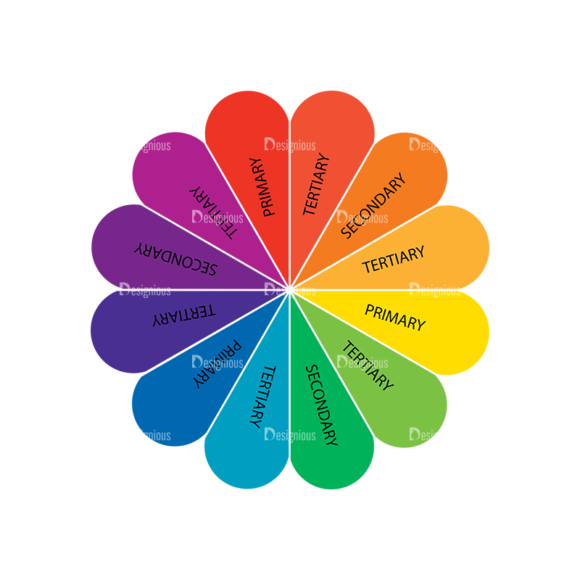 Color Wheel Vector Set Vector Color Wheel 05 Clip Art - SVG & PNG vector
