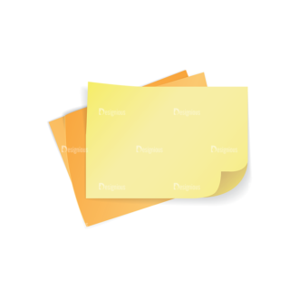 Colorful Paper Sheets Vector Papers 03 Clip Art - SVG & PNG vector