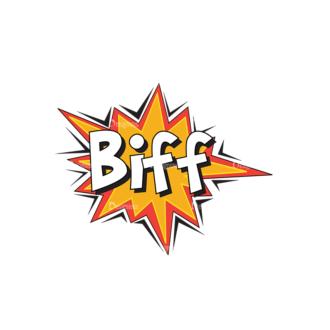 Comic Bubbles 1 Vector Text 08 Clip Art - SVG & PNG vector