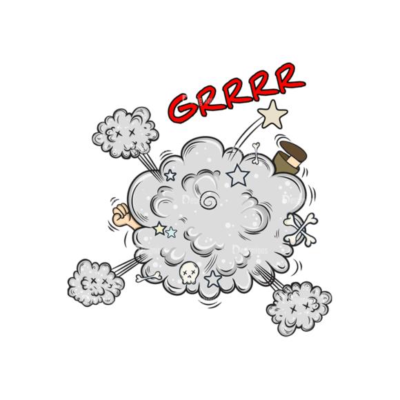Comic Bubbles 3 Vector Comic Bubble 07 Clip Art - SVG & PNG vector