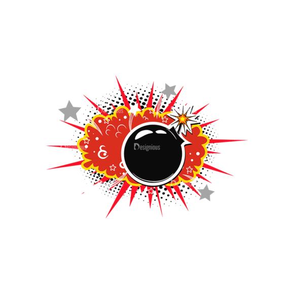 Comic Bubbles 3 Vector Comic Bubble 17 Clip Art - SVG & PNG vector