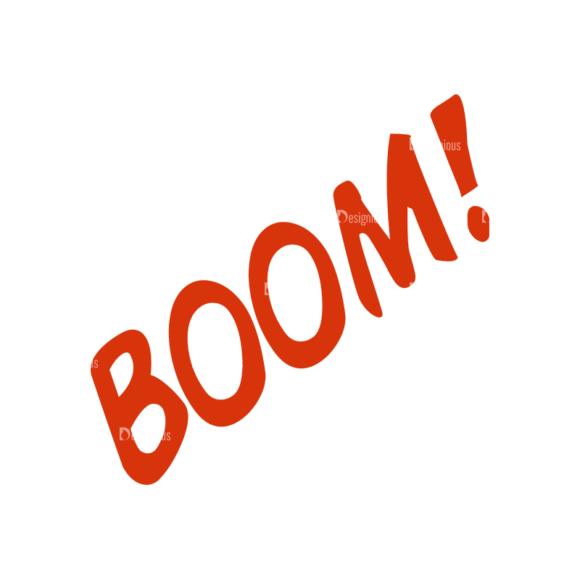 Creative Vector Set 1 Vector Boom Clip Art - SVG & PNG vector