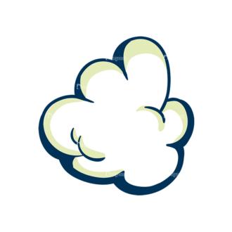 Creative Vector Set 1 Vector Cloud 01 Clip Art - SVG & PNG vector