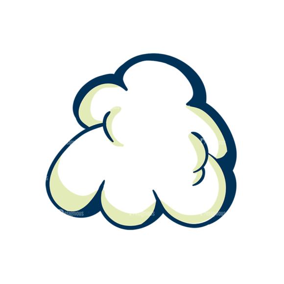 Creative Vector Set 1 Vector Cloud 08 Clip Art - SVG & PNG vector