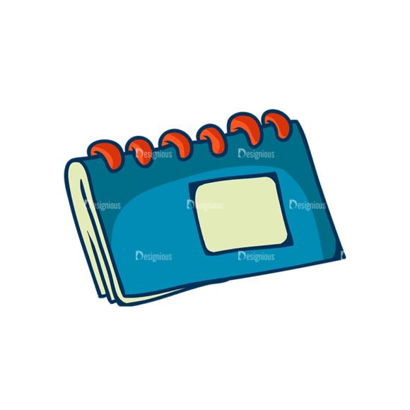 Creative Vector Set 1 Vector Notebook Clip Art - SVG & PNG vector