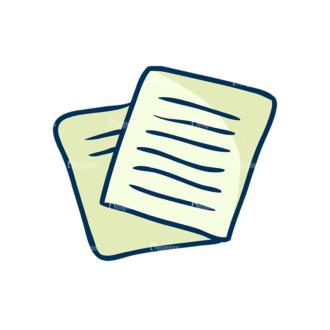 Creative Vector Set 1 Vector Notes Clip Art - SVG & PNG vector