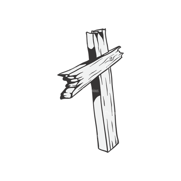 Crosses Vector 1 15 Clip Art - SVG & PNG vector