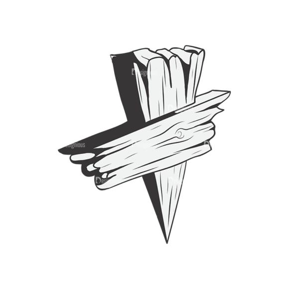 Crosses Vector 1 3 Clip Art - SVG & PNG vector