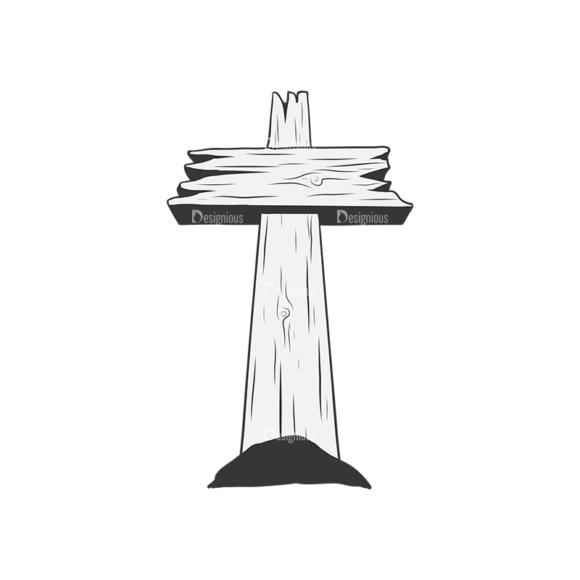 Crosses Vector 1 4 Clip Art - SVG & PNG vector
