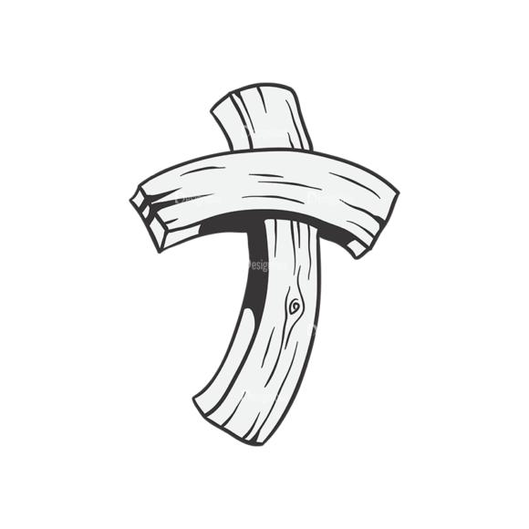 Crosses Vector 1 9 Clip Art - SVG & PNG vector