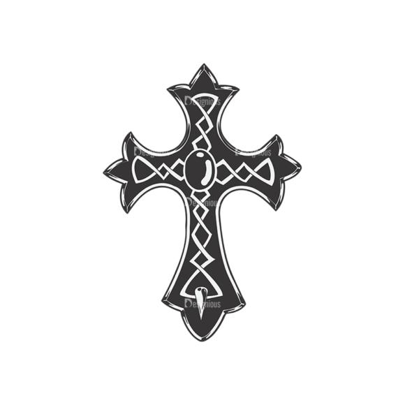 Crosses Vector 2 11 Clip Art - SVG & PNG vector