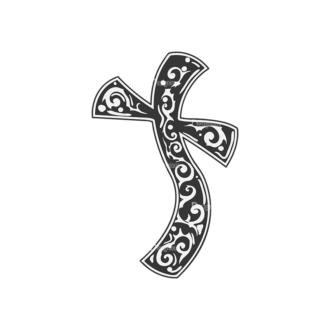 Crosses Vector 2 16 Clip Art - SVG & PNG vector