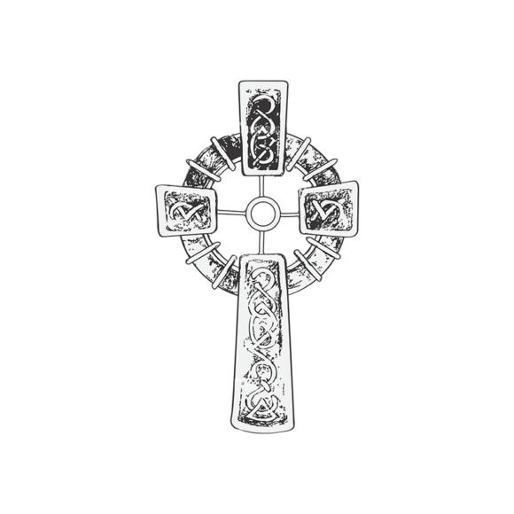 Crosses Vector 2 5 Clip Art - SVG & PNG vector