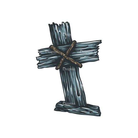 Crosses Vector 3 4 Clip Art - SVG & PNG vector