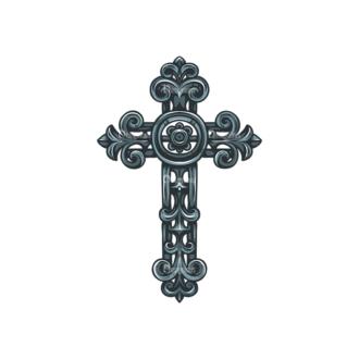 Crosses Vector 3 6 Clip Art - SVG & PNG vector