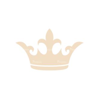 Design Elements Vector Set 3 Vector Crown Clip Art - SVG & PNG vector
