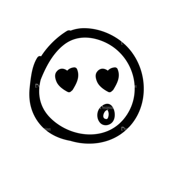 Doodle Emoticons Set 1 Vector Emoji 15 5