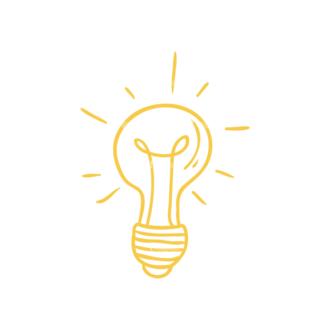 Eco Vector Set 6 Vector Bulb Clip Art - SVG & PNG vector