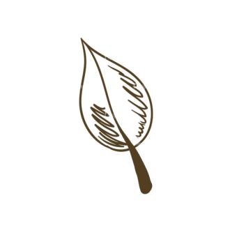 Eco Vector Set 6 Vector Leaf Clip Art - SVG & PNG leaf