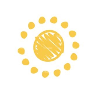 Eco Vector Set 6 Vector Sun Clip Art - SVG & PNG vector