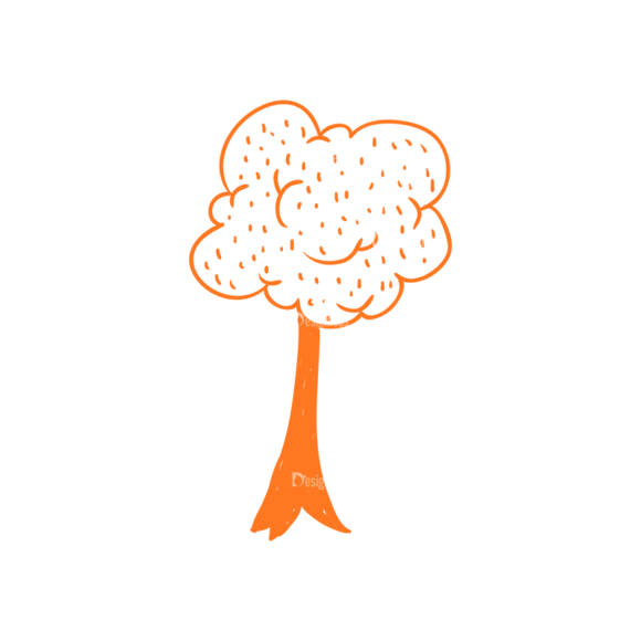 Eco Vector Set 6 Vector Tree Clip Art - SVG & PNG tree