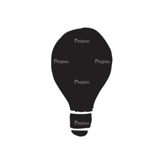 Ecology Elements Set 1 Vector Bulb Clip Art - SVG & PNG vector