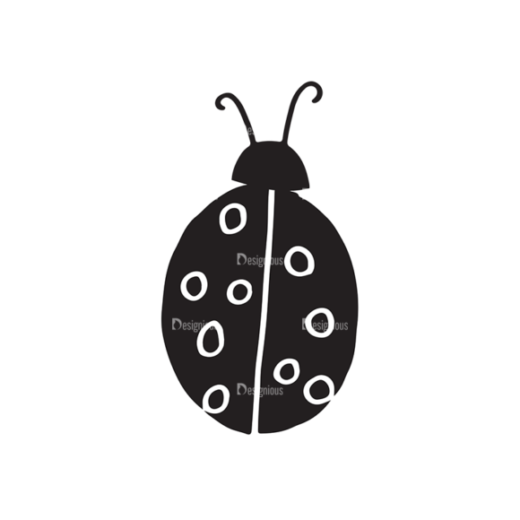 Ecology Elements Set 1 Vector Ladybug ecology elements set 1 vector ladybug