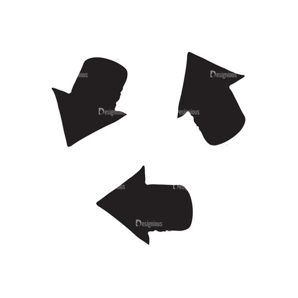 Ecology Elements Set 1 Vector Recycle 03 ecology elements set 1 vector recycle 03