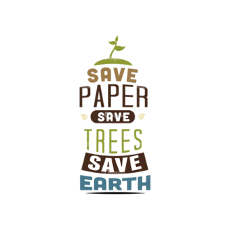 Ecology Typographic Elements 2 Vector Text 01 Clip Art - SVG & PNG vector