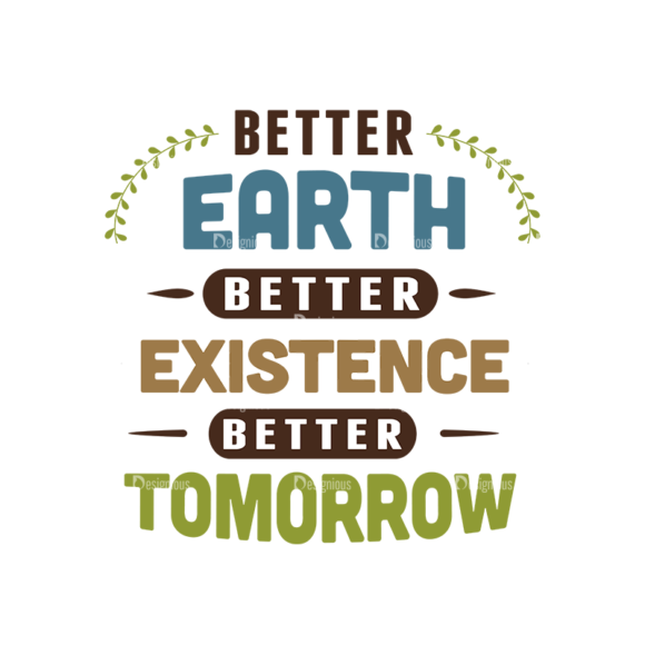 Ecology Typographic Elements 2 Vector Text 08 Clip Art - SVG & PNG vector
