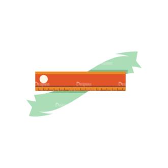 Education Vector Set 2 Vector Ruler 15 Clip Art - SVG & PNG vector