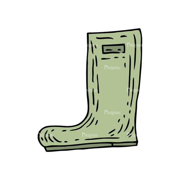Engraved Garden Vector Set 1 Vector Boots engraved garden vector set 1 vector boots