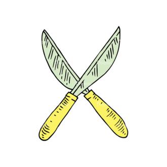 Engraved Garden Vector Set 1 Vector Grass Cutter Clip Art - SVG & PNG vector