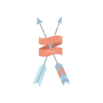 Ethnic Arrows Vector Set 1 Vector Arrow 02 Clip Art - SVG & PNG vector