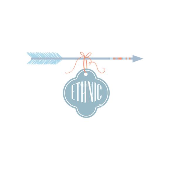 Ethnic Arrows Vector Set 1 Vector Arrow 03 Clip Art - SVG & PNG vector