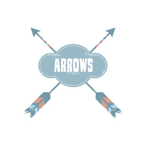 Ethnic Arrows Vector Set 1 Vector Arrow 05 Clip Art - SVG & PNG vector
