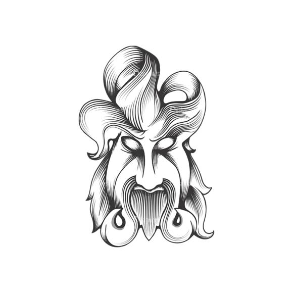 Evil Creatures Vector 1 1 Clip Art - SVG & PNG vector
