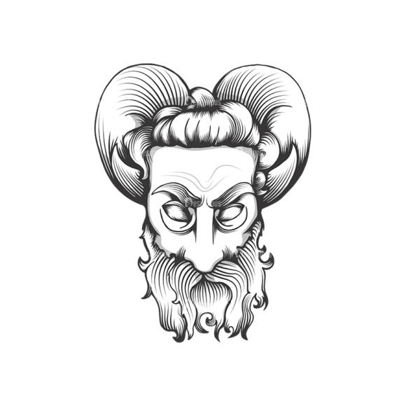 Evil Creatures Vector 1 2 Clip Art - SVG & PNG vector