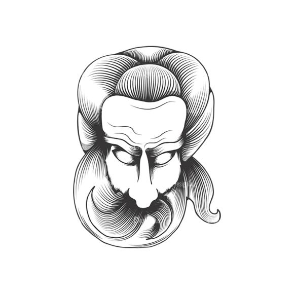 Evil Creatures Vector 1 4 Clip Art - SVG & PNG vector
