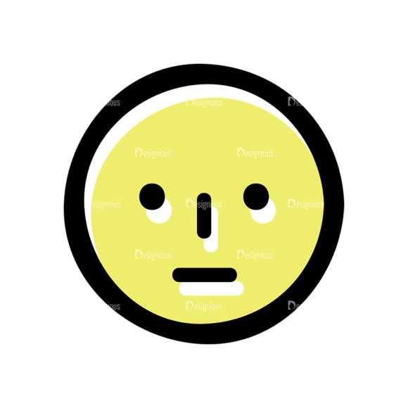 Face Expressions Set 9 Vector Face Expression 10 1