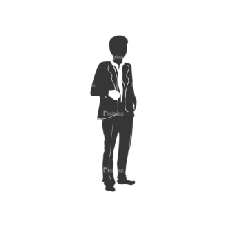 Fashion Men Pack 1 Preview Clip Art - SVG & PNG vector