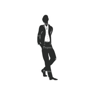 Fashion Men Pack 10 Preview Clip Art - SVG & PNG vector