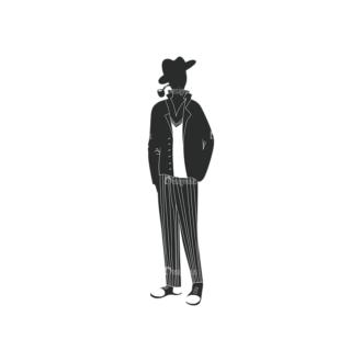 Fashion Men Pack 11 Preview Clip Art - SVG & PNG vector